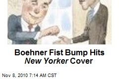 Boehner Fist Bump' On New Yorker Cover