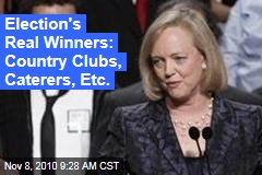 Election's Real Winners: Country Clubs, Caterers, Etc.