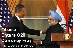 Obama Enters G20 Currency Fray