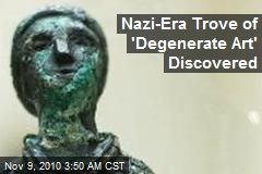 Nazi-Era Trove of 'Degenerate Art' Found