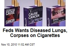 Feds Plan Graphic Cigarette Warnings