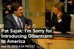 Pat Sajak: I'm Sorry for Introducing Olbermann to America