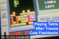 Playing Tetris After Trauma Cuts Flashbacks