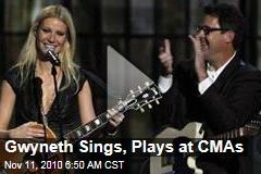 2010 Country Music Association Awards: Miranda Lambert Is Big Winner at CMAs; Gwyneth Paltrow Performs 'Country Strong' (Video)
