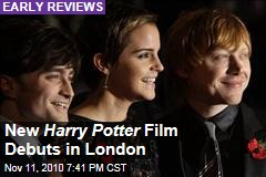 New Harry Potter Film Debuts in London