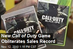 Black Ops Obliterates Sales Record and Gives Back