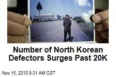 North Korean Defectors Surge Past 20K as Economic Conditions Worsen and More Flee South