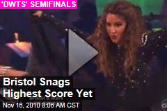 Bristol Palin 'Dancing With the Stars' Video: Waltz, Paso Doble Earn Her Highest Scores Yet (But She's Still in Last Place)