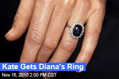 Kate Gets Diana's Ring