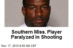 Southern Miss. Player Paralyzed in Shooting