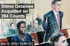 Gitmo Detainee Acquitted on 284 Counts