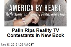 Palin Rips Levi, Reality TV in New Book