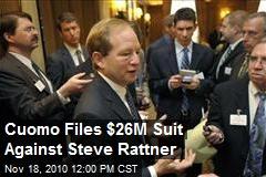 Cuomo Files $26M Suit Against Steve Rattner
