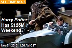 Harry Potter Has $125M Weekend
