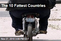 The 10 Fattest Countries