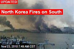 North Korea Fires on South
