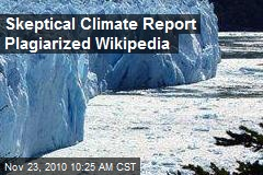 Skeptical Climate Report Plagiarized Wikipedia