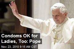 Vatican: Use Condoms If You Have HIV