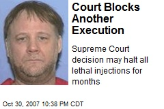 Court Blocks Another Execution