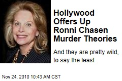 Ronni Chasen Murder Theories: Was Hollywood Publicist Victim of Gambling Shake-Down, Mob Killing, Gang Initiation?
