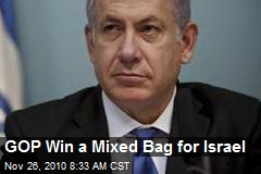 GOP Win a Mixed Bag for Israel