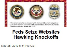 Feds Seize Websites Hawking Knockoffs