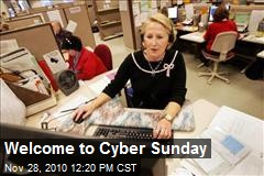 Welcome to Cyber Sunday