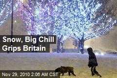 Snow, Big Chill Grips Britain