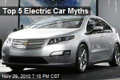 Top 5 Electric Car Myths