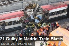 21 Guilty in Madrid Train Blasts