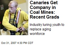 Canaries Get Company in Coal Mines: Recent Grads