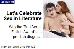 Let's Celebrate Sex in Literature
