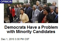 Democrats Have a Problem with Minority Candidates