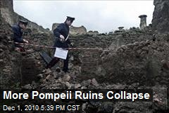 More Pompeii Ruins Collapse