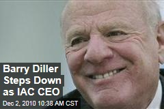Barry Diller Steps Down as IAC CEO
