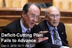 Deficit-Cutting Plan Fails to Advance