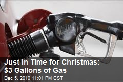 Gas Prices Set To Pass $3 by Christmas
