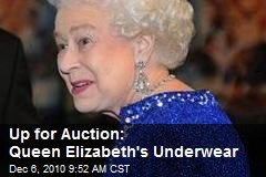 Up for Auction: Queen Elizabeth's Underwear