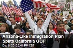 Arizona-Like Immigration Plan Splits California GOP