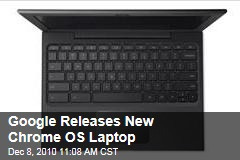 Google Releases New Chrome OS Laptop