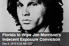 Florida to Pardon Jim Morrison, Wipe Indecent Exposure Conviction for 1969 Miami Concert