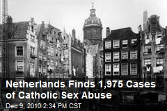 Netherlands Finds 1,975 Cases of Catholic Sex Abuse