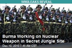 Burma Working on Nuclear Weapon in Secret Jungle Site