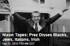 Nixon Tapes: Prez Disses Blacks, Jews, Italians, Irish
