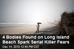 4 Bodies Found on Long Island Beach Spark Serial Killer Fears