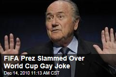 FIFA President Sepp Blatter Slammed Over Gay Joke While Discussing World Cup 2022 in Qatar