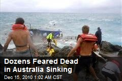 Dozens Feared Dead in Australia Sinking