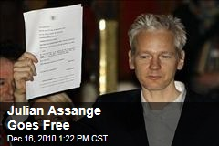 Julian Assange Goes Free