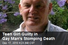 Teenage Girl Guilty in Gay's Stomping Death