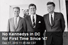 No Kennedys in DC for First Time Since '47